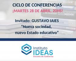 Conferencia: Gustavo Iaies