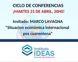 Conferencia: Marco Lavagna