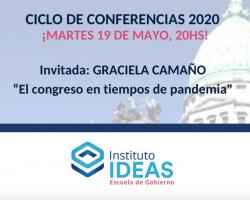 Conferencia: Graciela Camaño