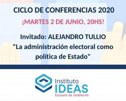Conferencia: Alejandro Tullio