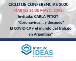 Conferencia: Carla Pitiot