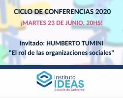 Conferencia: Humberto Tumini