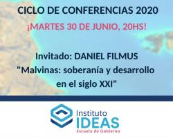 Conferencia: Daniel Filmus