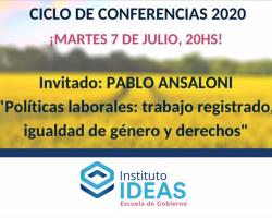 Conferencia: Pablo Ansaloni