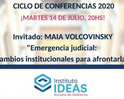 Conferencia: Maia Volcovinsky