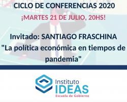 Conferencia: Santiago Fraschina