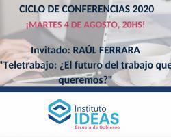 Conferencia: Raúl Ferrara