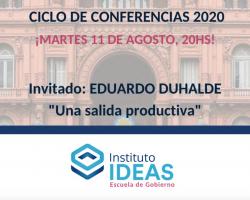 Conferencia: Eduardo Duhalde
