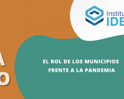 Seminario: El rol de los municipios frente a la pandemia