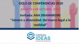 Conferencia: Anna Drannikow