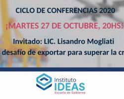 Conferencia: Lisandro Mogliati