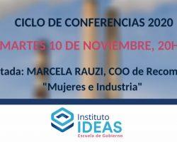 Conferencia: Marcela Rauzi