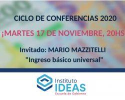 Conferencia: Mario Mazzitelli