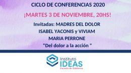 Conferencia: Madres del Dolor