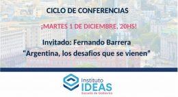 Conferencia: Fernando Barrera