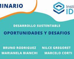 SEMINARIO – Desarrollo Sustentable: Oportunidades y desafíos