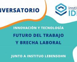 CONVERSATORIO –  Innovación y Tecnología: Futuro del trabajo y brecha digital