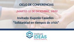 Conferencia: Eugenio Casielles