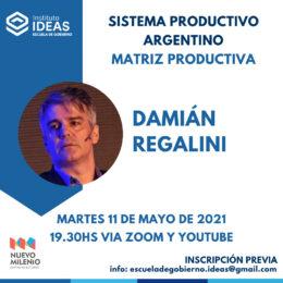 Conferencia: Damián Regalini