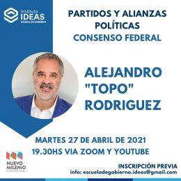 "Conferencia: Alejandro ""Topo"" Rodriguez"