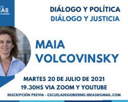 Conferencia: Maia Volcovinski
