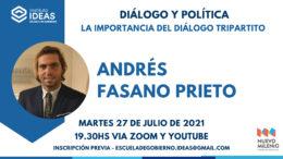 Conferencia: Andrés Fasano Prieto