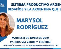 Conferencia: Marysol Rodríguez