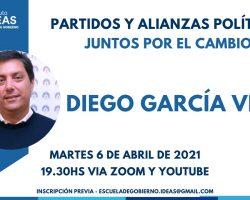 Conferencia: Diego García Vilas