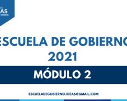 Escuela de Gobierno 2021 resúmenes