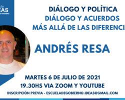Conferencia: Andrés Resa